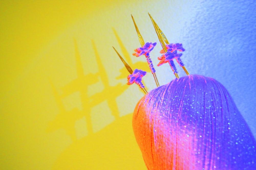 Thread Crochet Flower Comparisons (5/5)